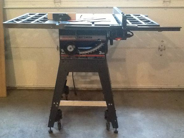 Craftsman 10 3hp Table Saw Model 113 298761 Is It A Good Buy By Mikedvb Lumberjocks