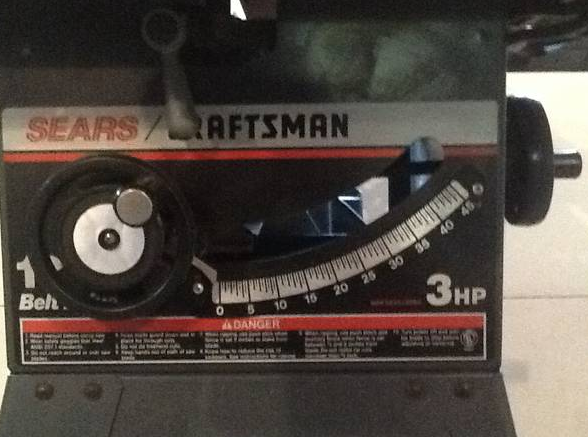 Craftsman 10 Quot 3hp Table Saw Model 113 298761 Is It A